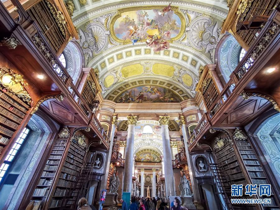 走進奧地利國家圖書館4.jpg
