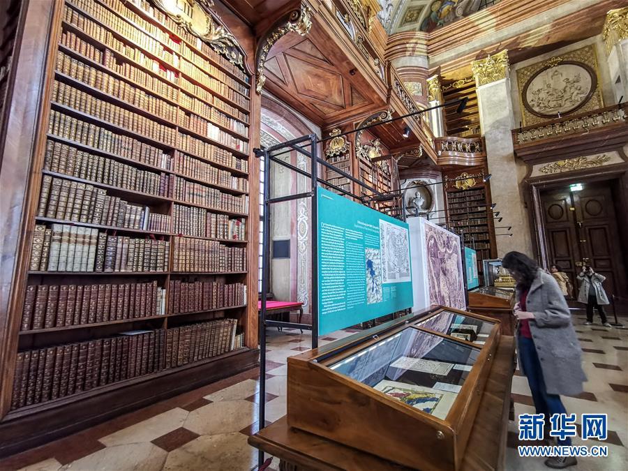 走進奧地利國家圖書館5.jpg