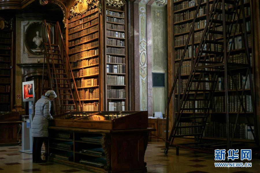 走進奧地利國家圖書館6.jpg