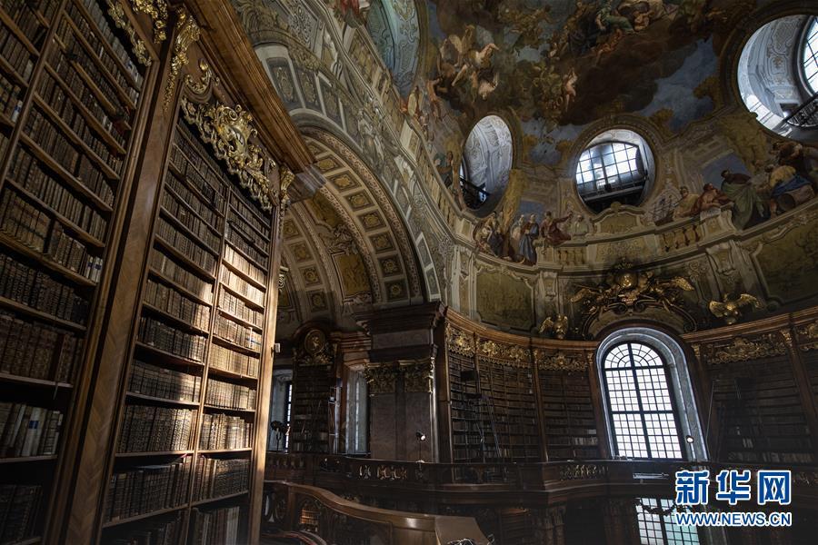 走進奧地利國家圖書館2.jpg