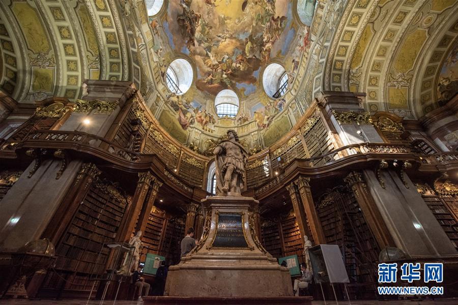 走進奧地利國家圖書館7.jpg