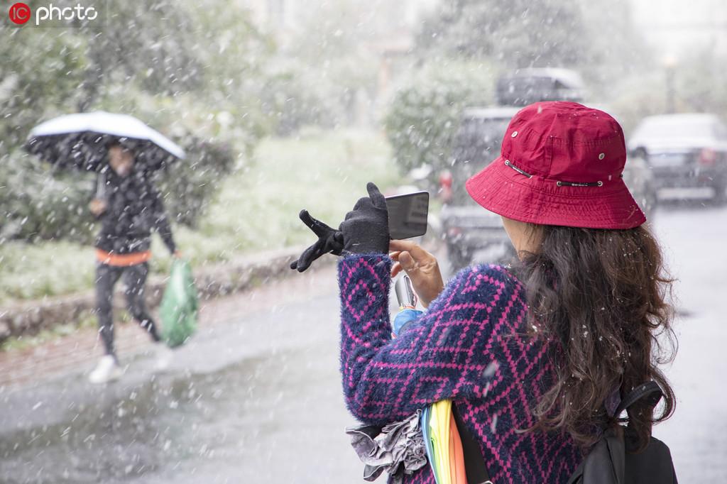 吉林最低气温零下3°C 降下今冬首场大雪.jpg