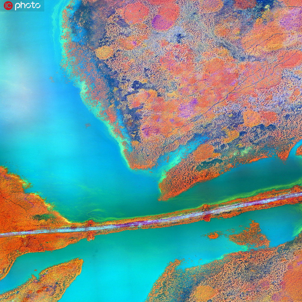 你沒見過的地球奇景 色彩斑斕美如油畫.jpg