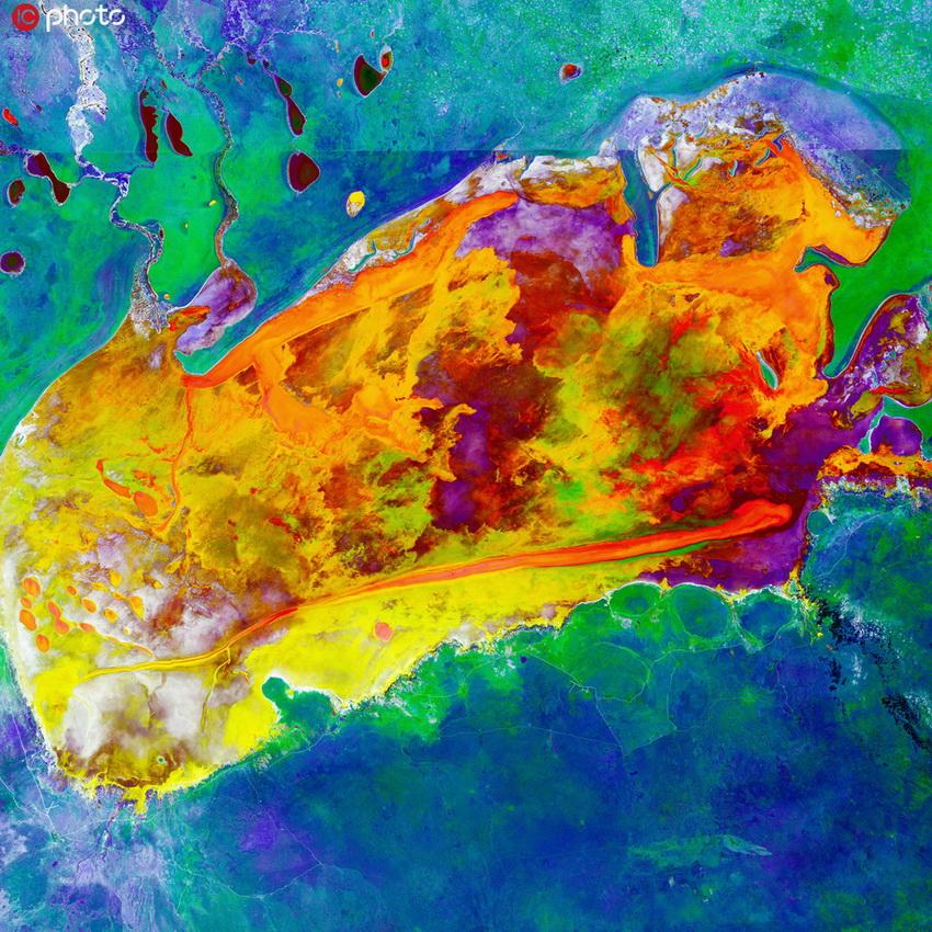 你沒見過的地球奇景 色彩斑斕美如油畫5.jpg