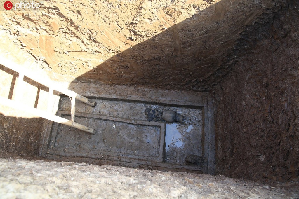 湖北襄陽發現東周楚國貴族墓葬群 已出土400多件國寶級文物2.jpg