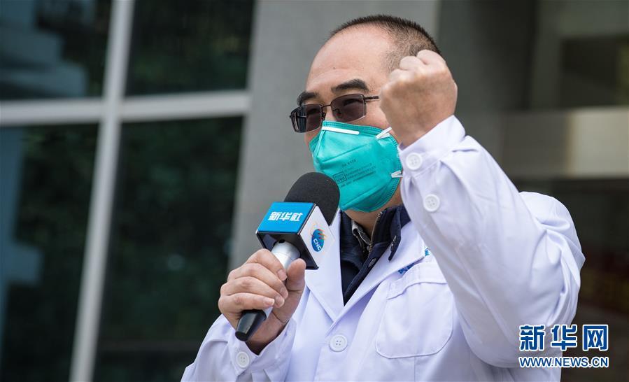 (聚焦疫情防控·圖文互動)(1)團結起來!我們萬眾一心!——中國抗疫人民力量的生動實踐