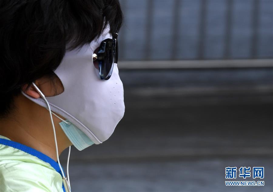 (環境)(5)鄭州發布高溫紅色預警信號