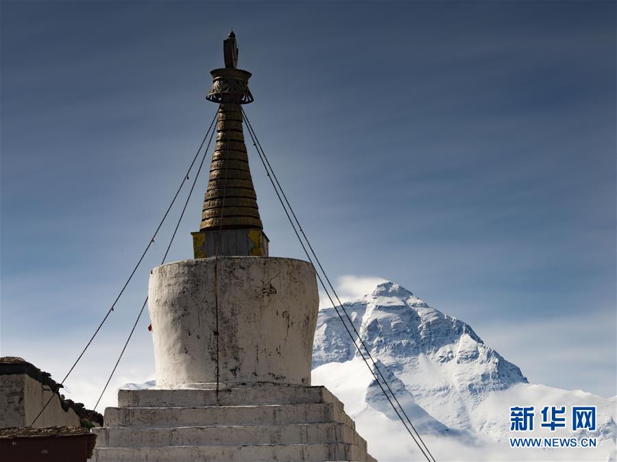 (2020珠峰高程測量)(5)巔峰景致 珠峰日夜