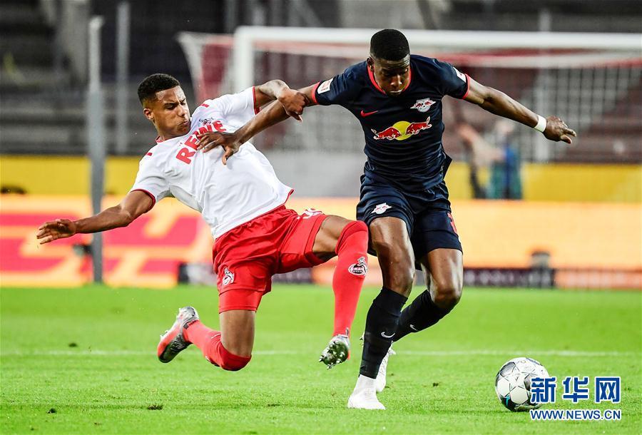 (體育)(5)足球——德甲:萊比錫勝科隆
