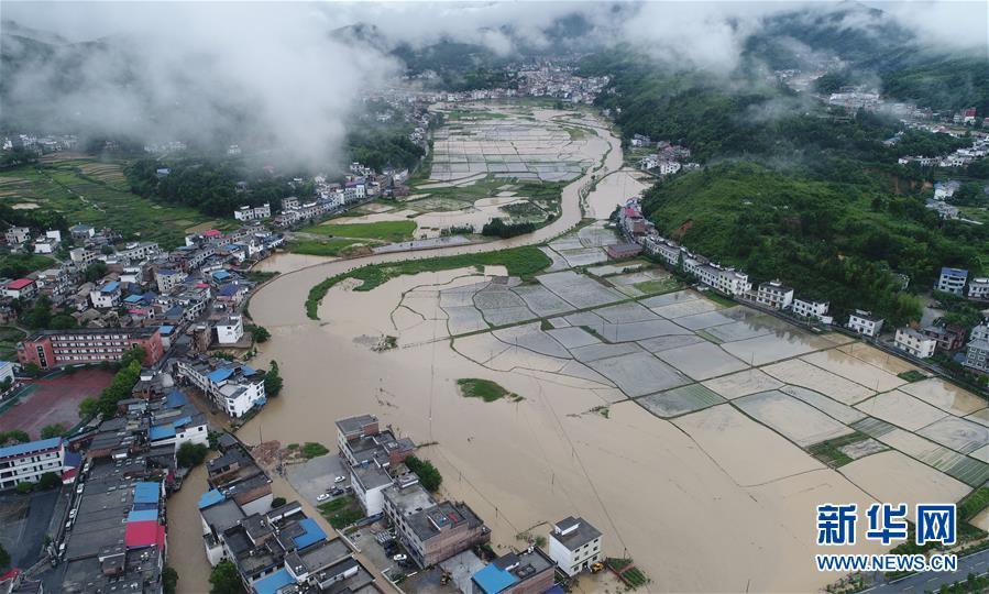 (生態)(1)江西遭遇強降雨 緊急啟動救災應急響應