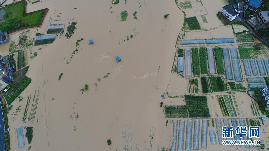 (生態)(2)江西遭遇強降雨 緊急啟動救災應急響應