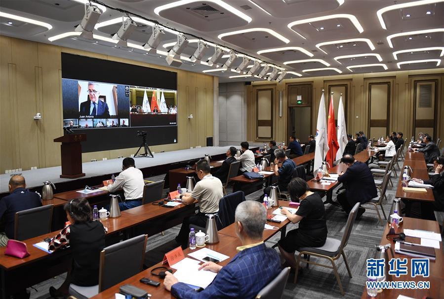 (體育)(1)國際奧委會北京2022年冬奧會協調委員會召開第五次會議