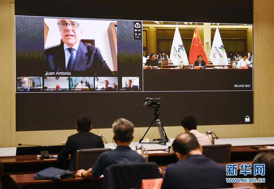 (體育)(4)國際奧委會北京2022年冬奧會協調委員會召開第五次會議