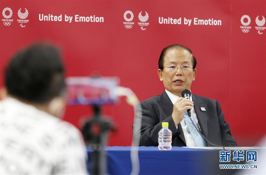 (體育·圖文互動)(2)東京奧組委首席執行官:沒人能百分之百承諾奧運會能如期舉行