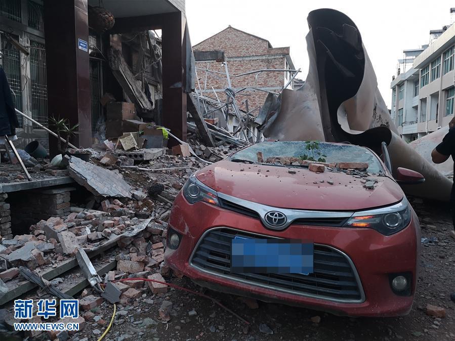 #(新華視界)浙江溫嶺槽罐車爆炸已致10人死亡117人受傷