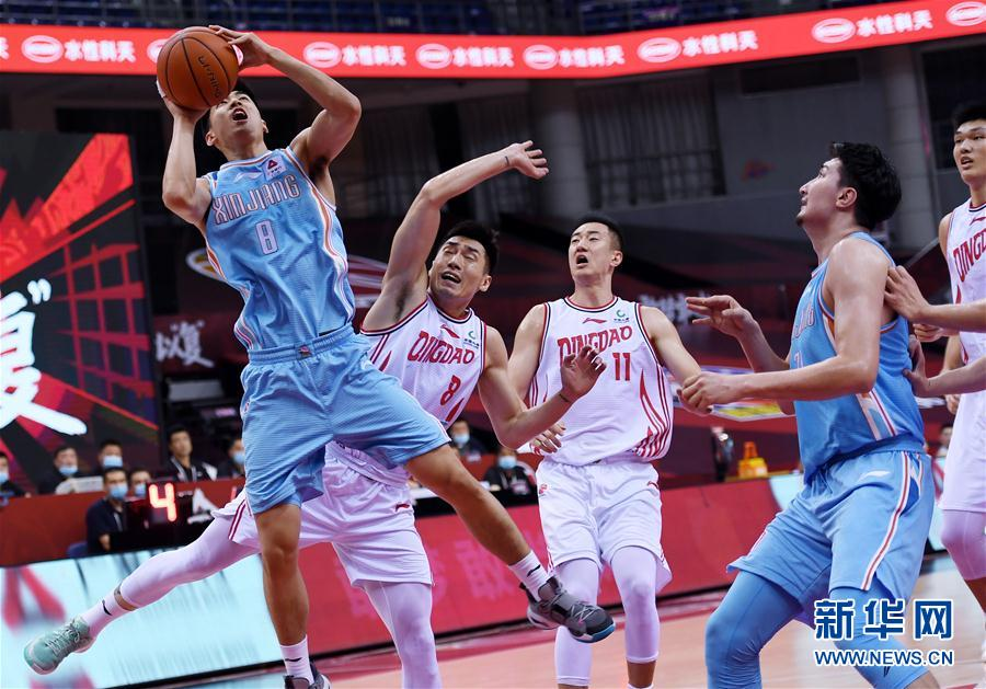 (体育)(9)篮球——CBA复赛第一阶段:新疆伊力特胜青岛国信双星