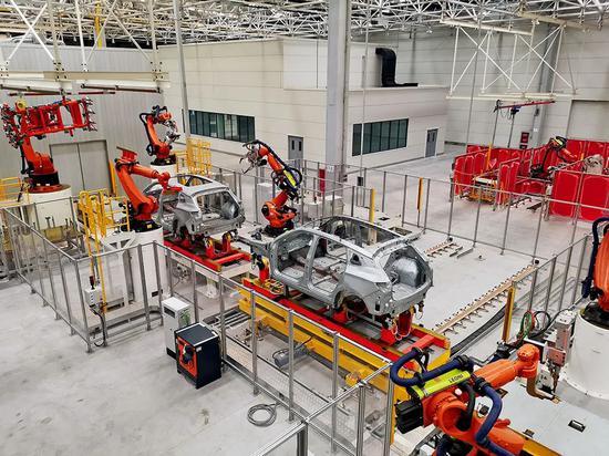 2020年6月,賽麟廠區沒有工人,生產線處于停滯狀態。攝影/江舟